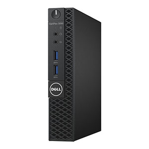 DELL Optiplex 3050 MFF Core-i5 7500T 8GB 256GB HD630/WLAN Win10Pro