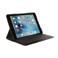 Logitech Focus Tastaturetui og AnyAngle holder til iPad mini 4