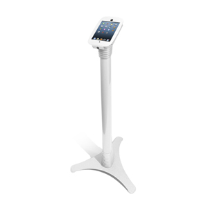 MACLOCKS Adjustable Floor Stand til iPad Mini - White