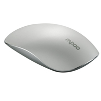 Rapoo T8 5G Wireless Laser Touch Mouse 1600 DPI HD White