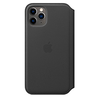 APPLE iPhone 11 Pro Le Folio Black Leather