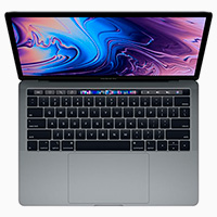 APPLE MacBook Pro Touchbar 13.3 Core i5-1.4GHz QuadCore 128GB 8GB Space Grey