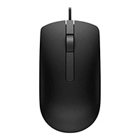 DELL MS116 Optical Mouse USB Black