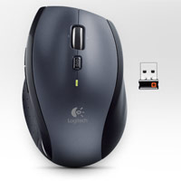 Logitech M705 Wireless Mouse Silver Unifying