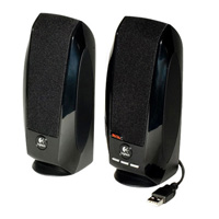 Logitech S-150 USB Digital Speakers Black
