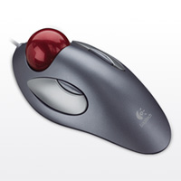 Logitech Trackman Marble Mouse USB PS/2
